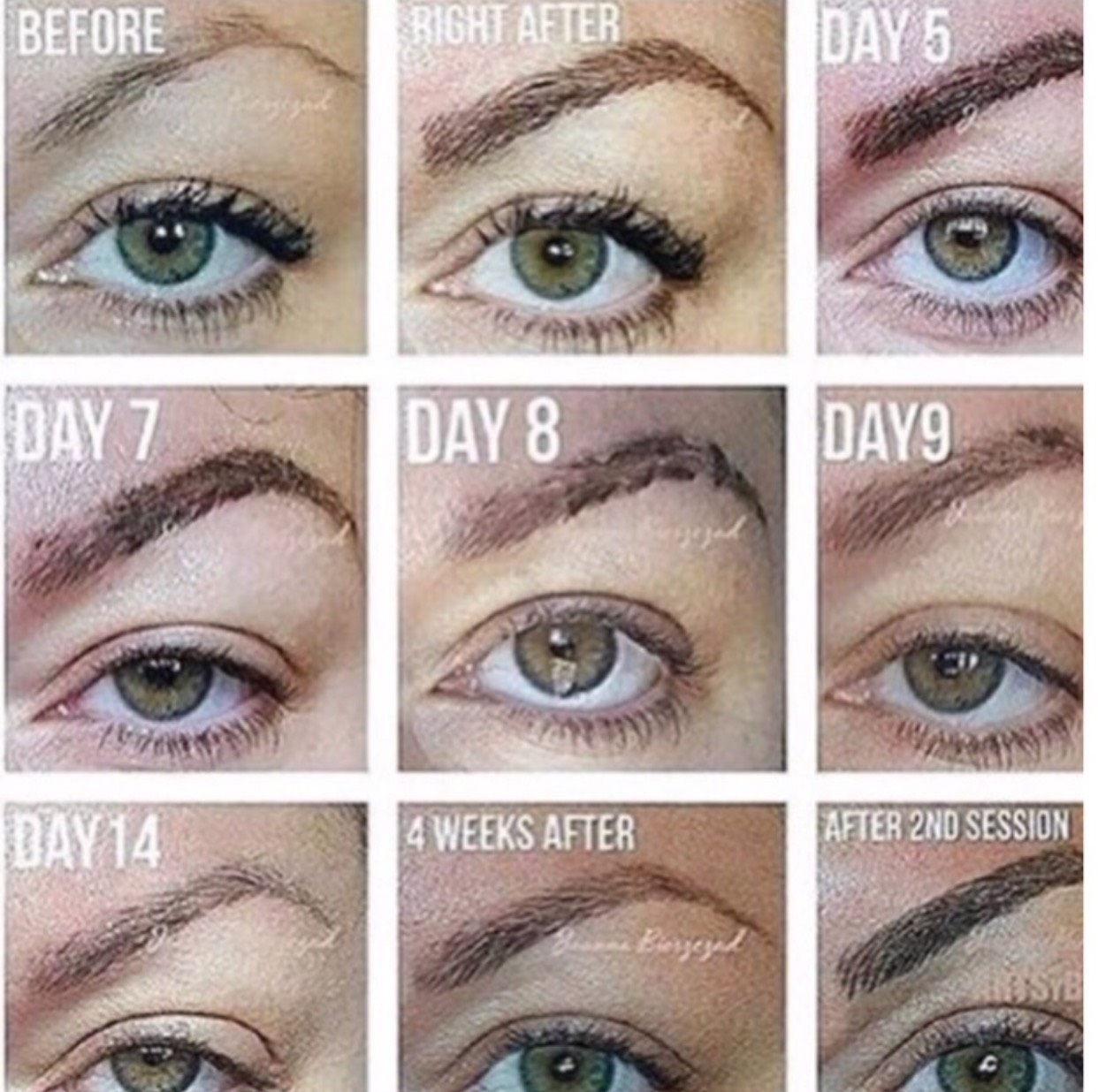 Eyebrow Aftercare Tattoo Aftercare Make Up Before You Wake Up